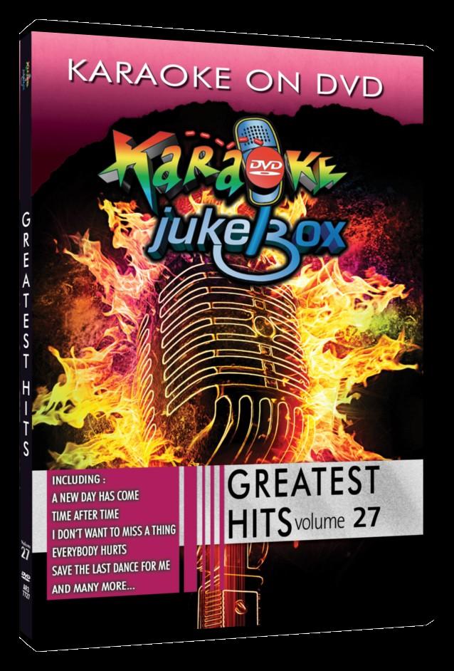 Greatest Hits Vol #27 - Karaoké Jukebox Live